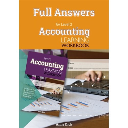 ESA Accounting Learning Workbook L2 Answers Booklet