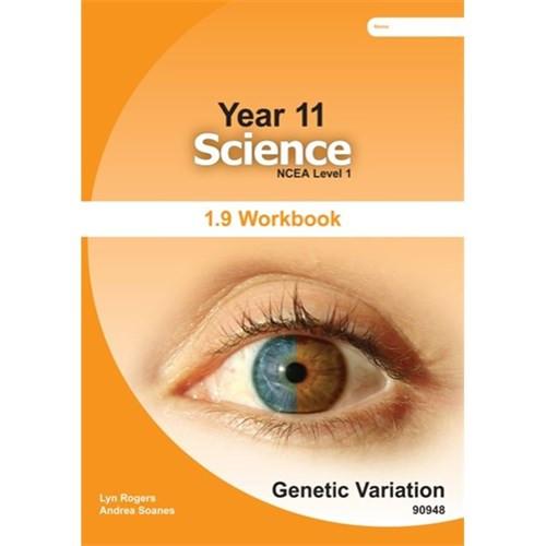 NCEA Level 1 Science 1.9 Workbook: Genetics