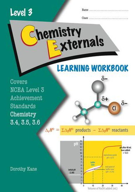 NCEA Level 3 Chemistry Externals Learning Workbook