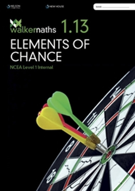 Walker Maths Senior 1.13 Elements of Chance Workbook