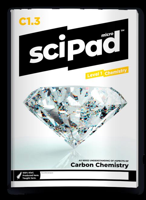 sciPAD 1.3 Chemistry Workbook Carbon Level 1 Year 11