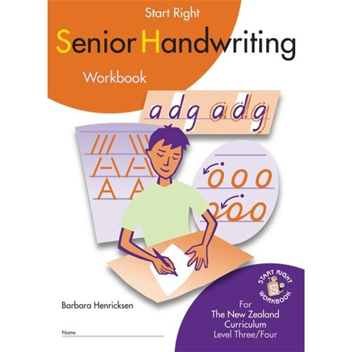 Start Right Senior Handwriting Workbook