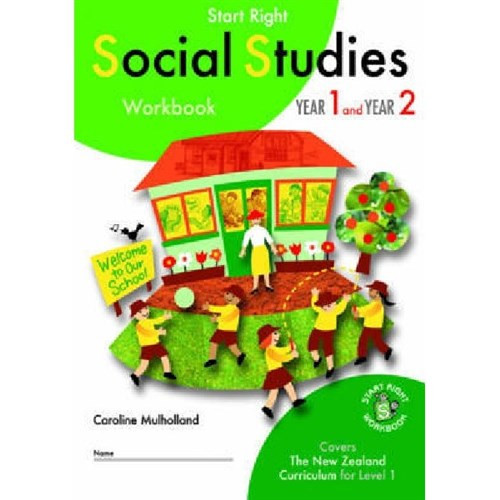 Start Right Year 1 & Year 2 Social Studies Workbook