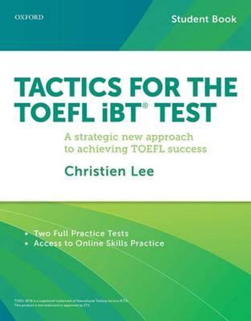 Tactics for TOEFL iBT Test: Student Pack