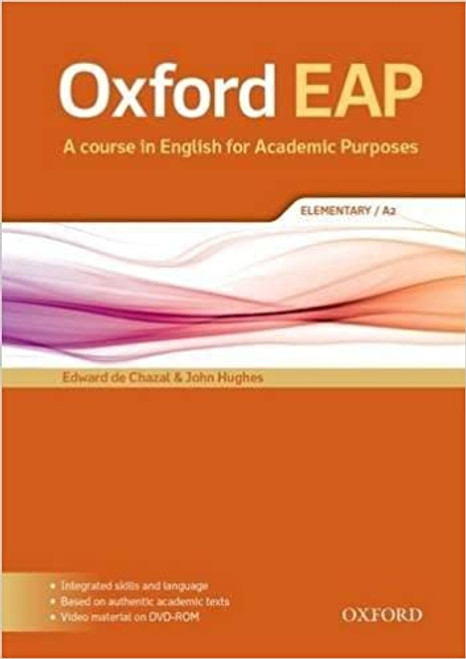 Oxford EAP: Elementary/A2 Student's Book and DVD-ROM Pack