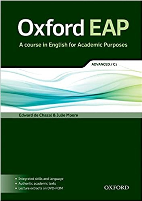 Oxford EAP: Advanced/C1 Student's Book and DVD-ROM Pack