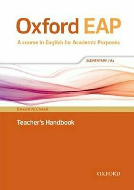 Oxford EAP: Elementary/A2 Teacher's Book, DVD and Audio CD Pack