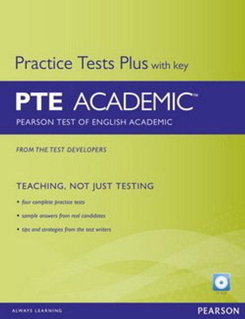 Pearson Test Plus With Key PTE Academic