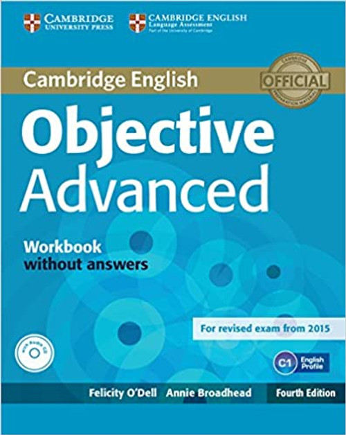 Cambridge English Objective Advanced Workbook without Answers