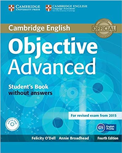 Cambridge English Objective Advanced Student's Book without Answers