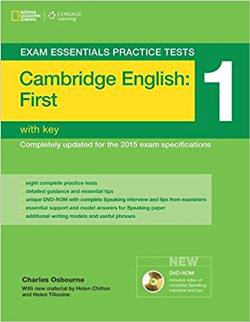 Exam Essentials: Cambridge First Practice Tests 1 with Key