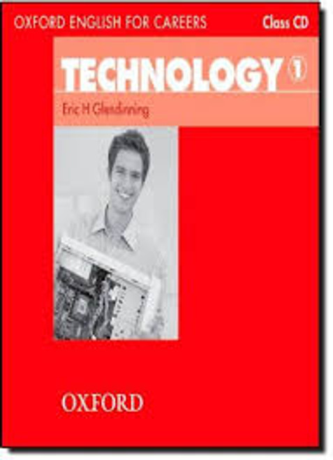 Oxford English for Careers: Technology 1 Class Audio CD