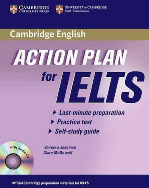 Cambridge English Action Plan for IELTS Self-study Pack