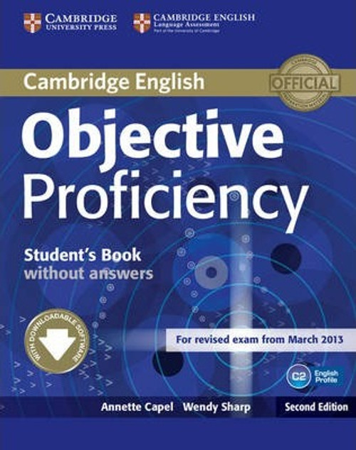 Cambridge English Objective Proficiency Student's Book without Answers