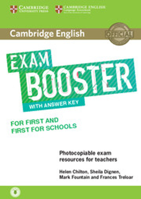 Cambridge English Exam Booster for First and First for Schools with Answer Key with Audio