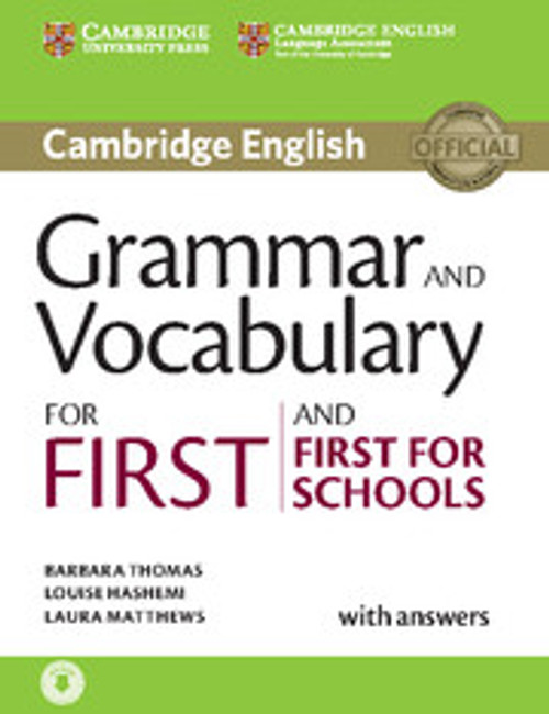 Cambridge English Grammar and Vocabulary for First and First for Schools Book