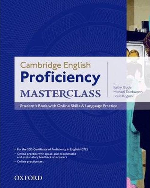 Cambridge English: Proficiency (CPE) Masterclass Student's Book with Online Skills and Language Practice