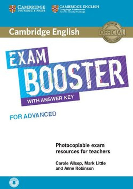 Cambridge English Exam Booster for Advanced with Answers and Audio (Teacher's Resource)