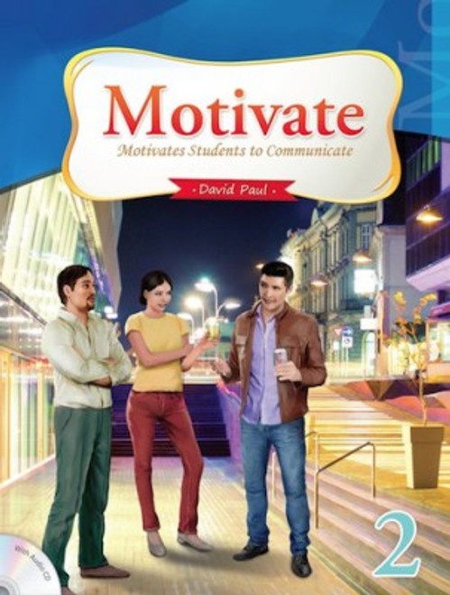 Motivate 2 Student Book with Audio CD