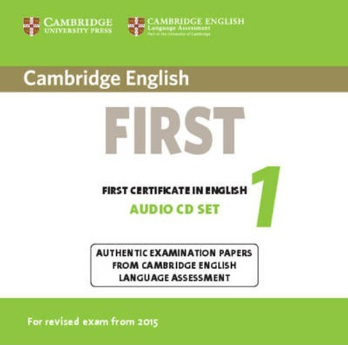 Cambridge English First 1 for Revised Exam from 2015 Audio CDs
