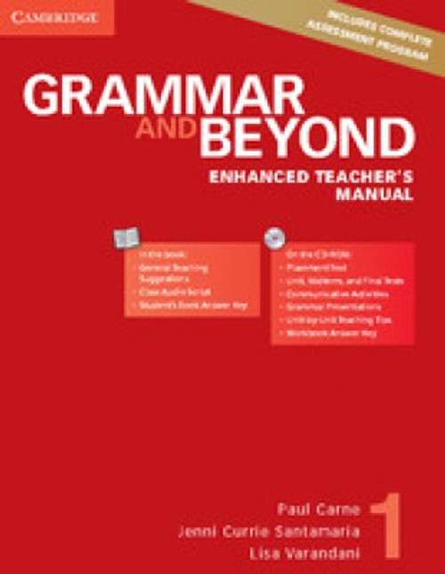 Grammar and Beyond Level 1 Enhanced Teacher's Manual