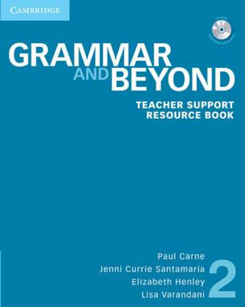 Grammar and Beyond Level 2 Teacher Support Resource Book