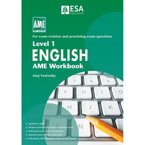 Level 1 English: AME Workbook (2020 edition)