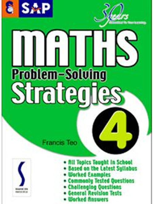 SAP Maths Problem-Solving Strategies Book 4 - (Duplicate Imported from BigCommerce)