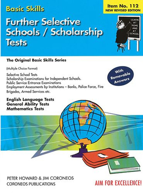 Further Selective School and Scholarship Tests