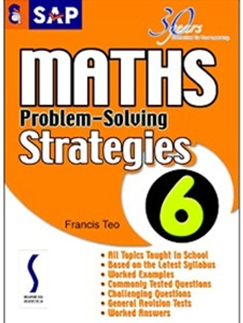 SAP  Ed Maths Problem-Solving Strategies Book 6