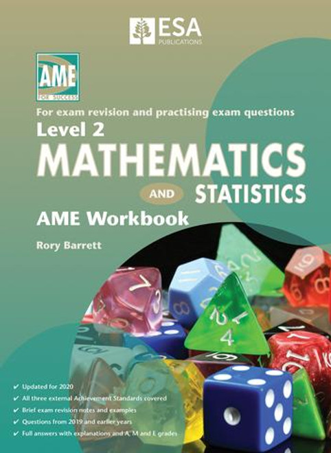 LEVEL 2 MATHEMATICS AND STATISTICS AME WORKBOOK 2020