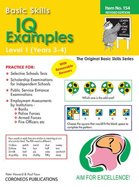 Basic Skills IQ Examples Level 1