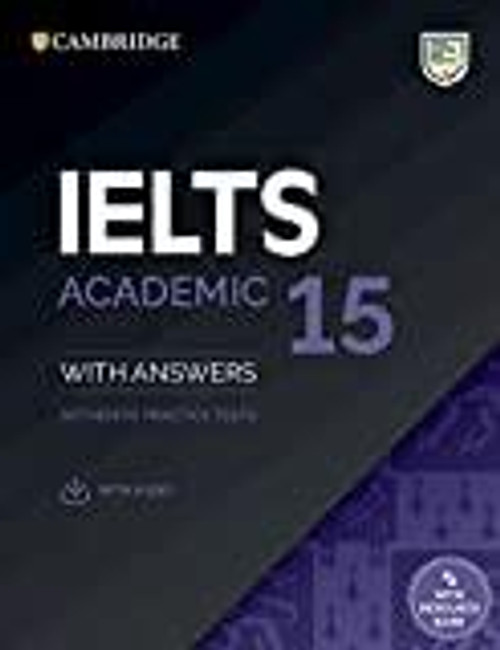 IELTS Academic Training 15 with answers &audio