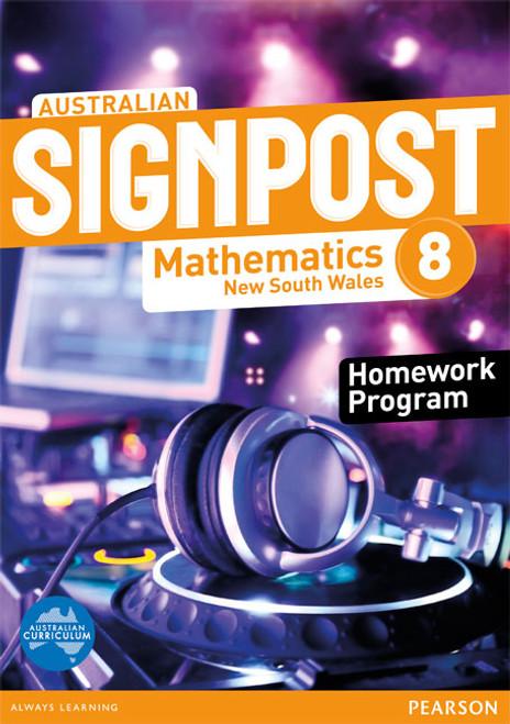 Australian Signpost Mathematics New South Wales 8 Homework Program