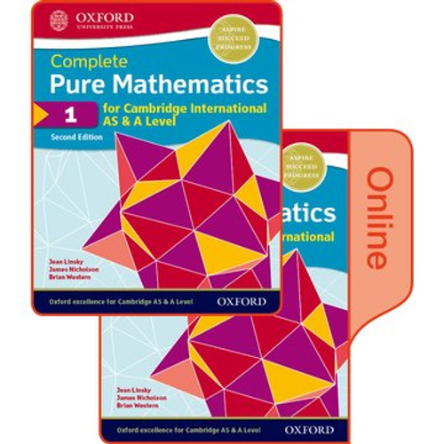 Pure Mathematics 1 for Cambridge International AS & A Level: Print & Online Student Book Pack