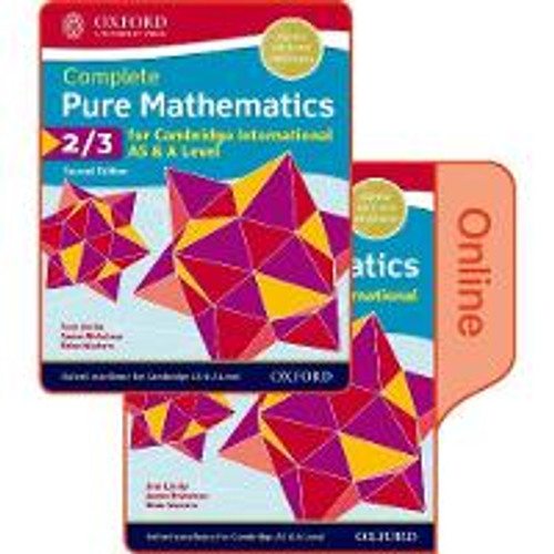 Pure Mathematics 2 & 3 for Cambridge International AS & A Level: Print & Online Student Book Pack