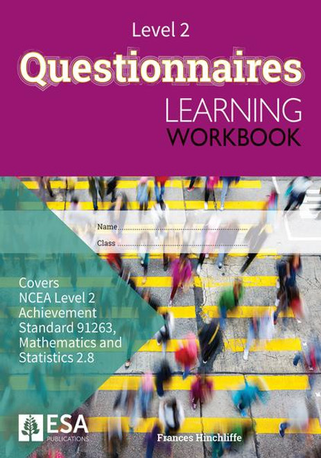 Level 2 Questionnaires 2.8 Learning Workbook (new edition)