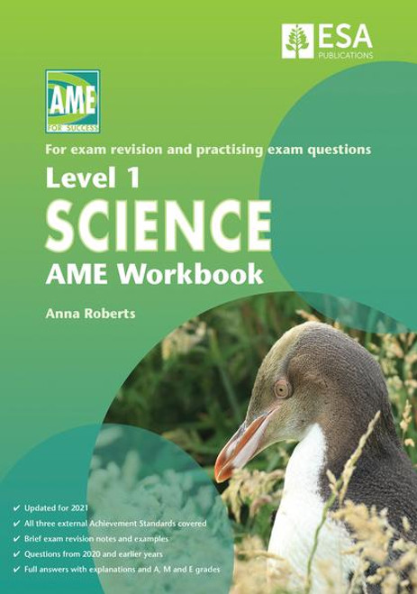 Level 1 Science AME Workbook 2021