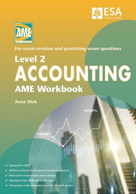 Level 2 Accounting AME Workbook 2021