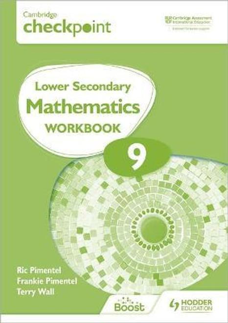 Cambridge Checkpoint Lower Secondary Mathematics Workbook 9