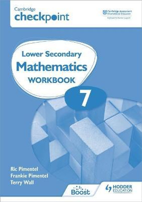 Cambridge Checkpoint Lower Secondary Mathematics Workbook 7