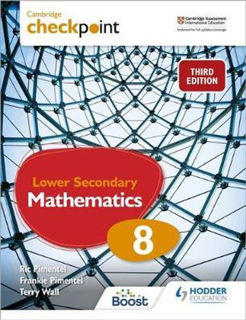 Cambridge Checkpoint Lower Secondary Mathematics Student's Book 8