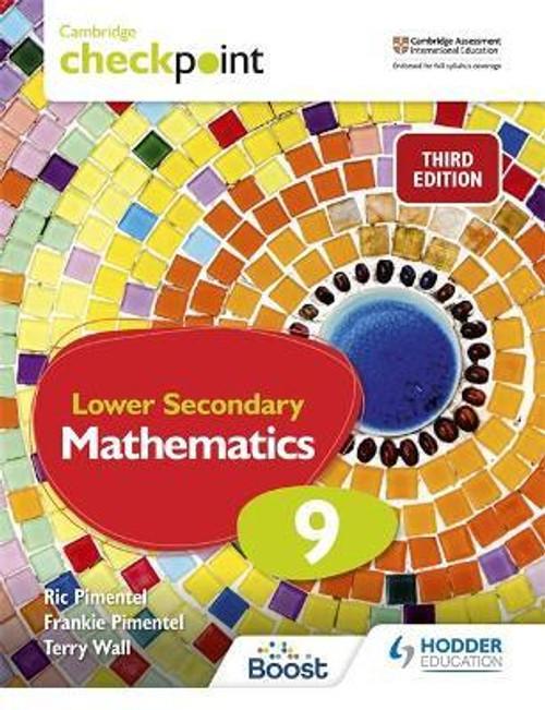 Cambridge Checkpoint Lower Secondary Mathematics Student's Book 9