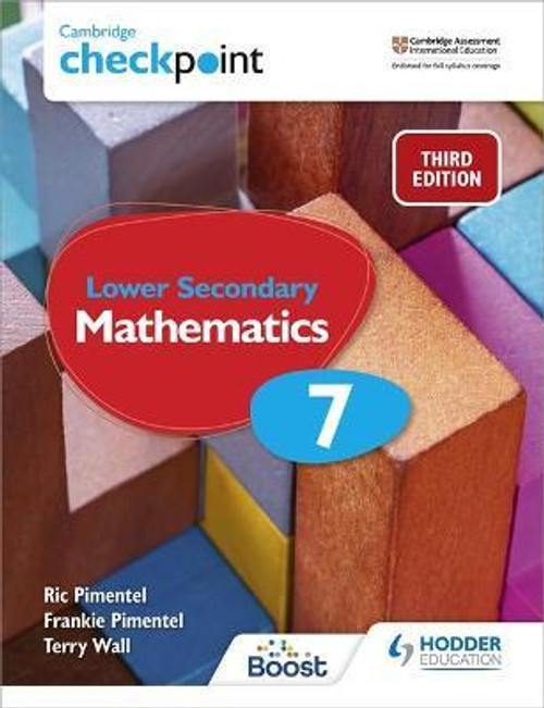 Cambridge Checkpoint Lower Secondary Mathematics Student's Book 7