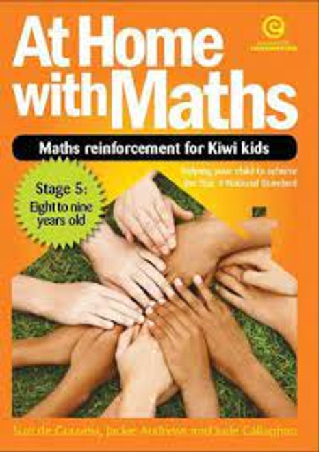 At Home with Maths - Reinforcement for Kiwi kids (Stg 5)