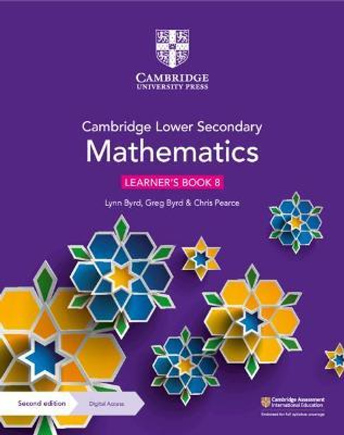 Cambridge Lower Secondary Mathematics Learner's Book 8 with Digital Access (1 Year)