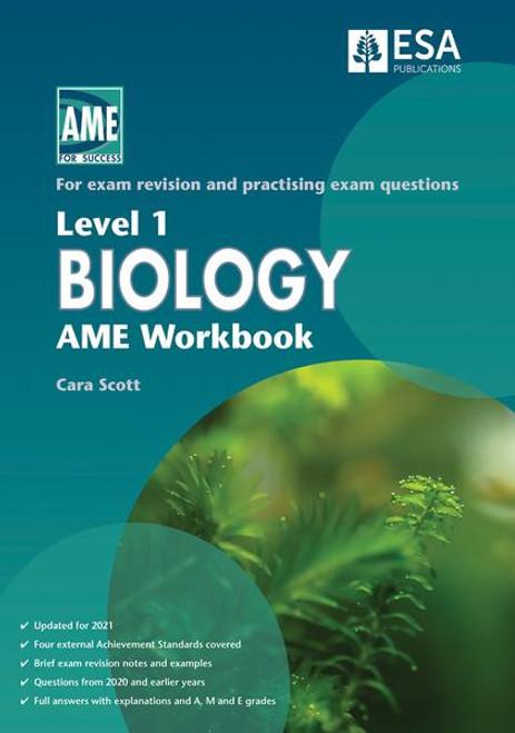 Level 1 Biology AME Workbook 2021