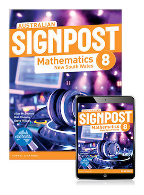 Australian Signpost Mathematics New South Wales 8 Student Book with eBook