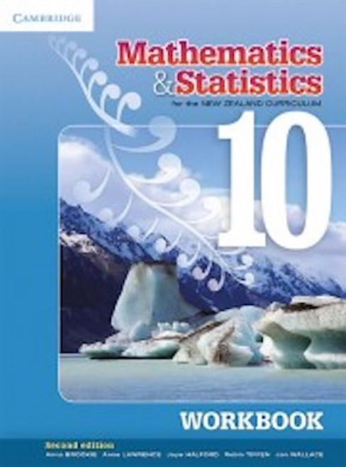 Cambridge Mathematics And Statistics For The New Zealand Curriculum Year 10: Homework Book