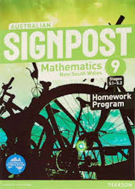 Australian Signpost Mathematics NSW 9 (5.1-5.2): Homework Program